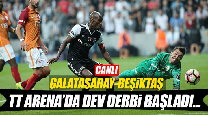 Galatasaray ve Beşiktaş Derbisi Canlı Yayın