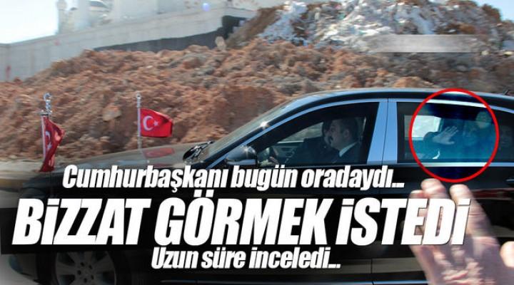 Cumhurbaşkanı Recep Tayyip Erdoğan Çamlıca Camii'ni Ziyaret Etti.