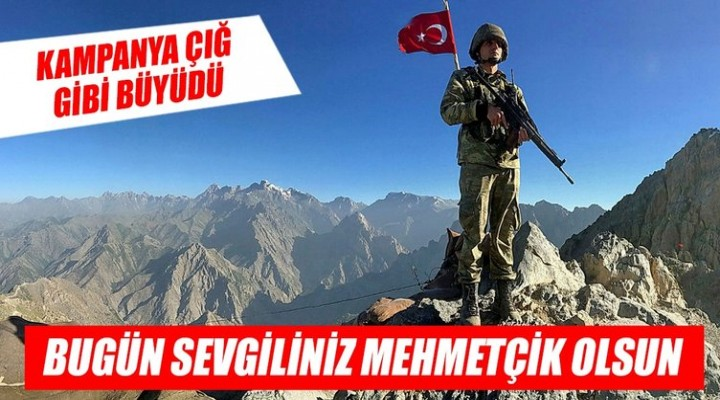 Mehmetçiğe Bağış Yağdı ... İnternet sitesi kilitlendi