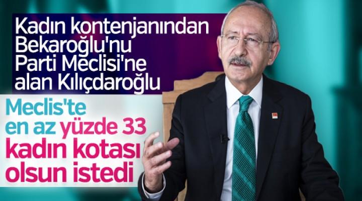 Kılıçdaroğlu'nun Kadınlar Günü konuşması