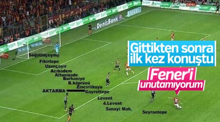 Sneijder: Fenerbahçe'ye attığım golleri unutamıyorum