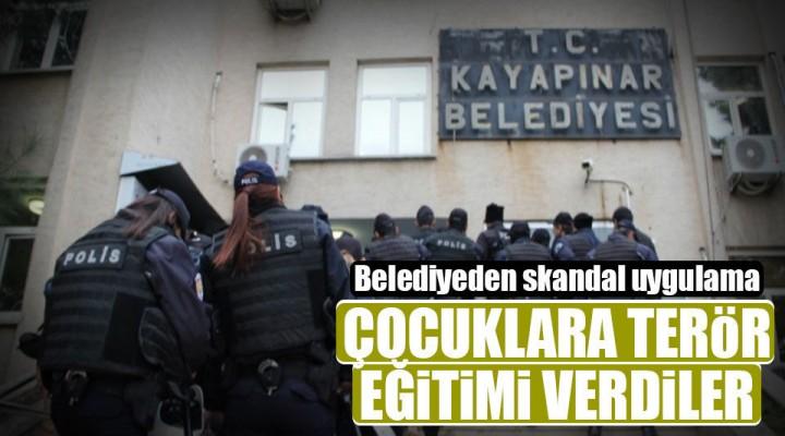PKK Bildirileri ile Çocuklara Terör Eğitimi Verilmiş