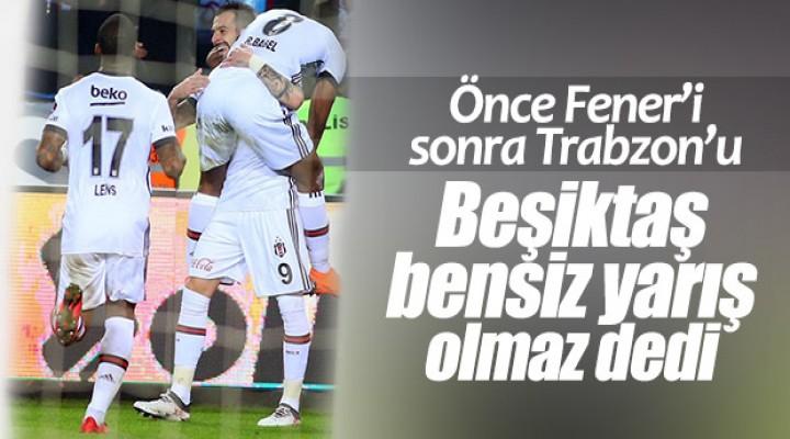 Beşiktaş Trabzonspor'u Babel'in golleriyle yendi