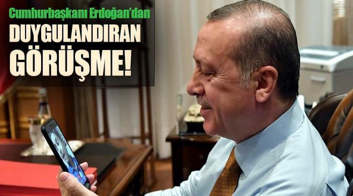 Cumhurbaşkanı Recep Tayyip Erdoğan Bedirhan Emre Akgüç'ü Külliyeye Davet Etti.