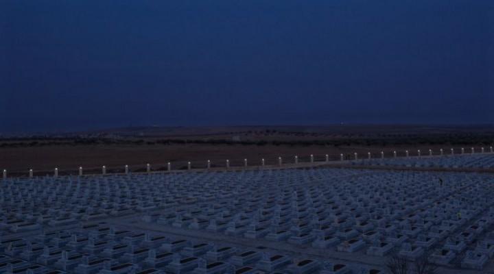 YPG'li teröristlerin gömüldüğü mezarlar