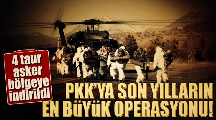 PKK'ya Büyük Operasyon Diyarbakır Lice'de Hareketli Saatler!