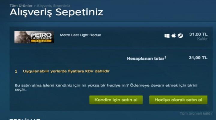 Steam'e KDV geldi
