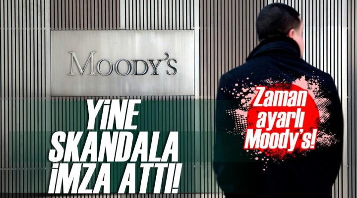 Moody's Yine Yaptı Yapacağını ve Türkiye'yi Görmezden Geldi!
