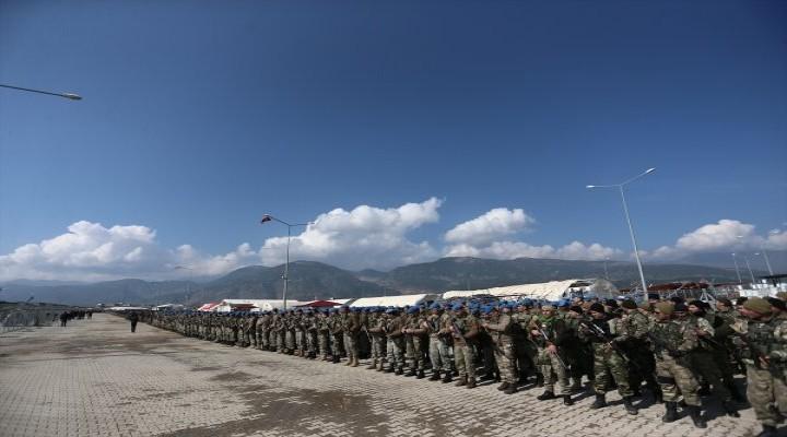 Özel birlikler İslahiye'deki üste cuma namazı kıldı