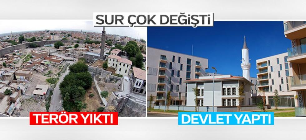 Diyarbakır'ın İçkale Vadisi yeni görüntüsüne kavuştu
