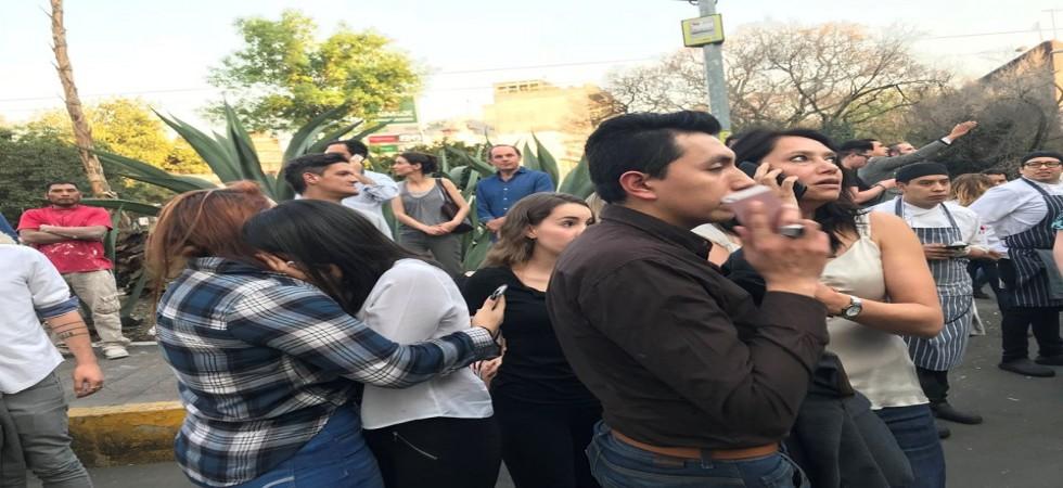 Son dakika haberi... Meksika'da 7,5 büyüklüğünde deprem