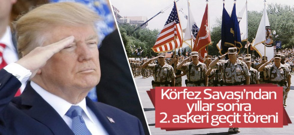 Trump, Gaziler Günü'nde 'askeri gövde gösterisi' yapacak