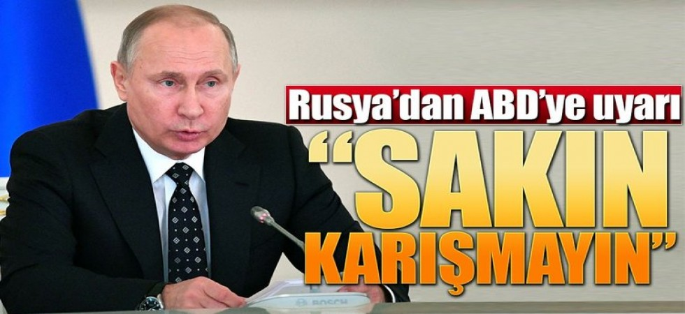 Son dakika… Rusya'dan ABD ye Sert Mesajlar İletildi