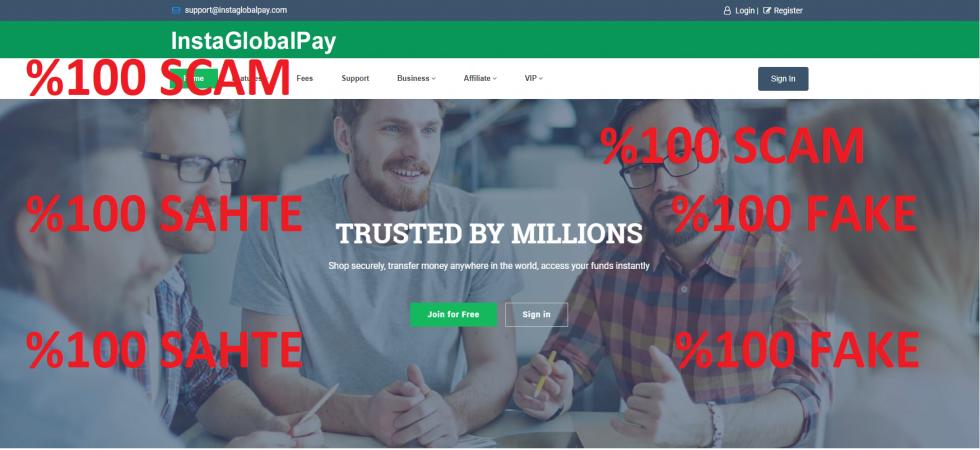 Insta Global Pay Sahtekarlığı İçin Dikkatli Olun
