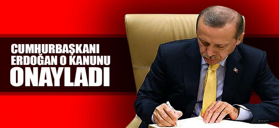 Cumhurbaşkanı Recep Tayyip Erdoğan 54 Kanunu Onayladı.