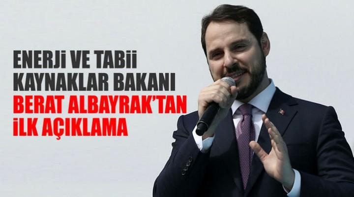 Bakan Albayrak'tan referandum açıklaması.