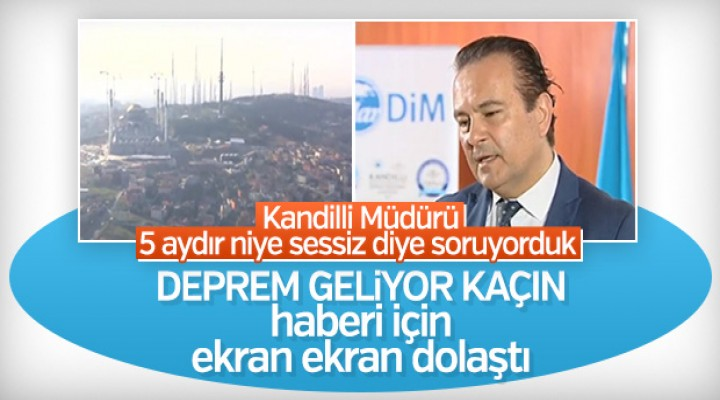 Kandilli'den İstanbulluları korkutan deprem uyarısı