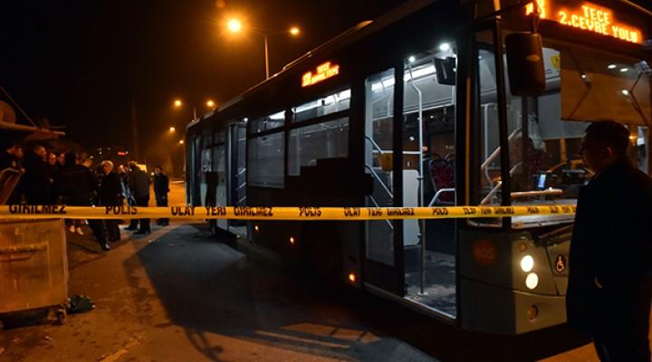 Belediye otobüsüne molotofkokteyli ile saldırı: 3 yaralı