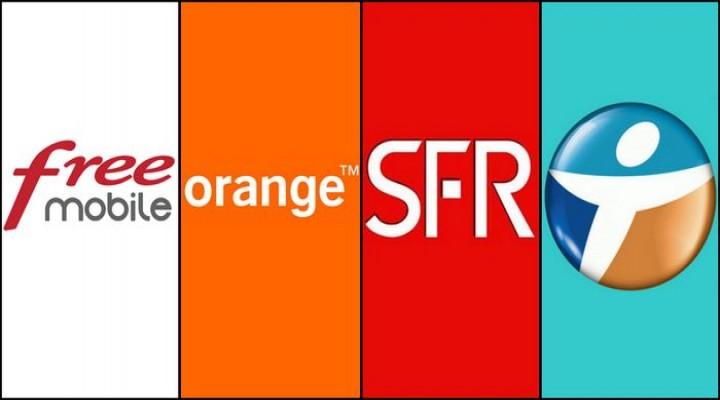 Fransa'da İletişim Rezaleti SFR, FREE, Bouygues  ve Orange ile Diğerleri.