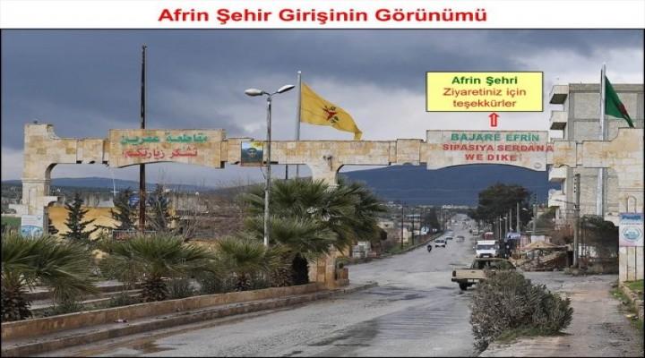 Afrin'de hendekleri halka kazdırdılar