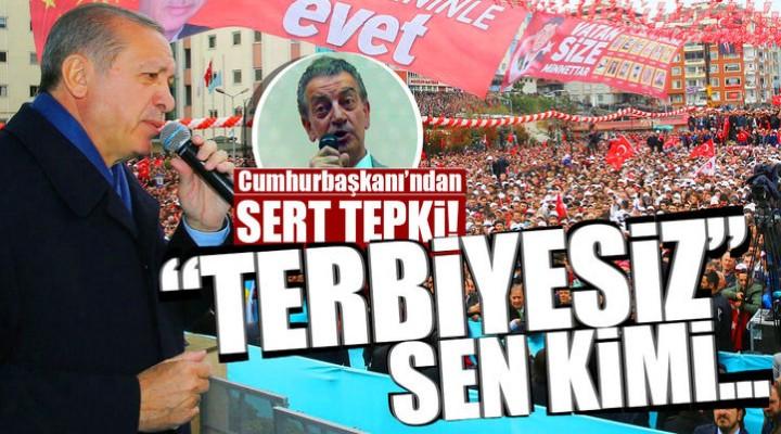 Cumhurbaşkanı Recep Tayyip Erdoğan'dan CHP'li Vekile Çok Sert Yanıt Sen Kimi Denize Döküyorsun Terbiyesiz?