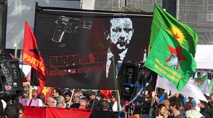 İsviçre'de Cumhurbaşkanı Recep Tayyip Erdoğan'ı Hedef Alan Pankart İçin Soruşturma Başlatıldı.