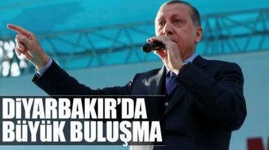 Cumhurbaşkanı Recep Tayyip Erdoğan, bugün Diyarbakırlılarla buluşacak.