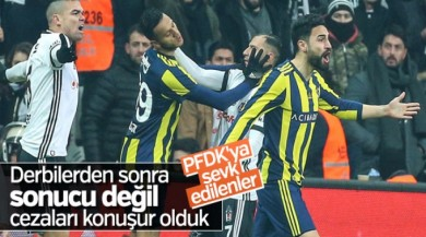 Beşiktaş, F.Bahçe ve Quaresma PFDK'ya sevk edildi