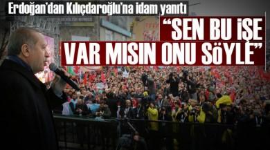 Cumhurbaşkanı Erdoğan'dan Kemal Kılıçtaroğlu'na Yönelttiği İdam Sorusu!