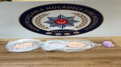 Adıyaman'da 700 tane uyuşturucu hap ele geçirildi