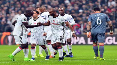 Beşiktaş Bu Sezon Avrupada İlk Kez 4 Gol Attı