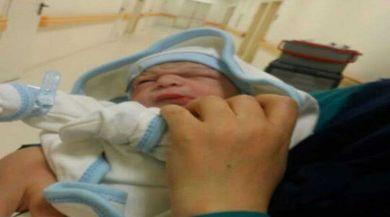 Ispartanın Doğuştan Şanslı Bebeği