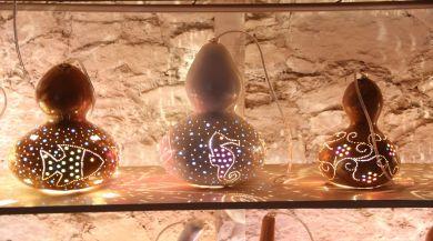 Su Kabağı Usta Ellerde Sanata Dönüşüyor