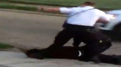 Yine Abd, Yine Siyahi Şüpheliye Polis Şiddeti