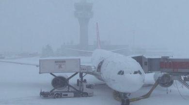 Atatürk Havalimanında Buzlanmaya Karşı Özel Kum Kullanılacak
