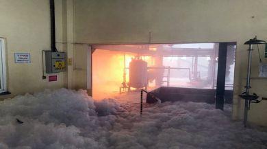 Valilikten Fabrikada Yangın Açıklaması