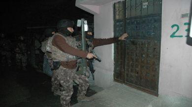 Adanada Pkk/kck Operasyonu: 13 Gözaltı
