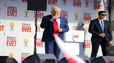 Başbakan Yıldırım: Kandilinizi Söndüreceğiz
