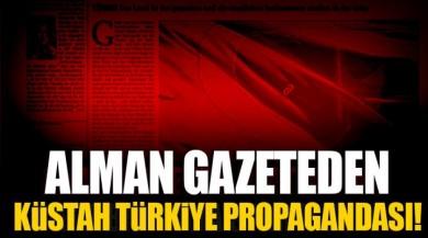 Almanya'nın Das Parlament Gazetesinden Küstah Propaganda.
