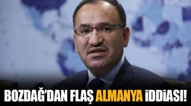 Adalet Bakanı Bekir Bozdağ'dan Flash Almanya Açıklaması!