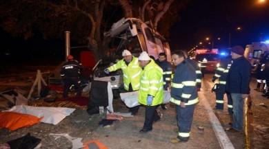 Kaza yapan otobüs şöförünün verdiği ilk ifade haberin detayları için tıklayınız.