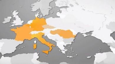 Skandal... Türkiye'yi haritadan sildiler Grafik Hatası Dediler