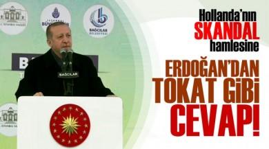 Cumhurbaşkanı Recep Tayyip Erdoğan'dan Hollanda'ya Çok Sert Yanıt Geldi!