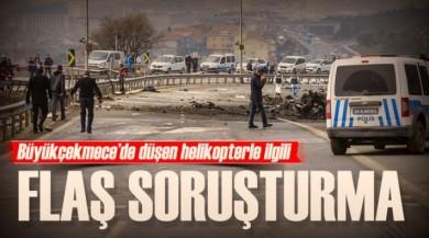 Kuğu Havacılık ve Turizm AŞ'ye Helikopter'in Düşmesi İle İlgili Soruşturma Açıldı!