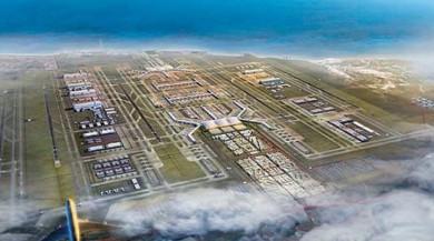 3'cü Hava Limanının Yüzde 78'i tamamlandı Bitime Son Çeyrek