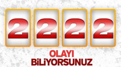 TSK: 2222 terörist öldürüldü
