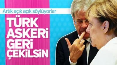 Almanya: Türk askeri geri çekilsin