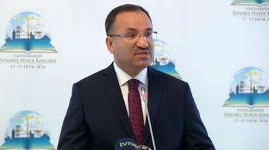 """Bekir Bozdağ: """"HSYK Başkanı ve Adalet Bakanı olarak net söylüyorum…"""""""