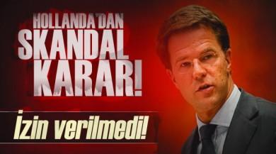 Dışişleri Bakanı Mevlüt Çavuşoğlu'nun Rotterdam Uçuşu İptal Edildi!