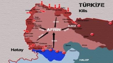 Afrin'de 415 kilometrekareden fazla alan temizlendi